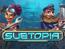 Азартный автомат Subtopia на сайте Admiral